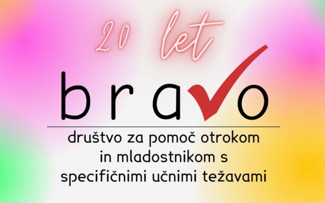 20 let Društva Bravo v slikah